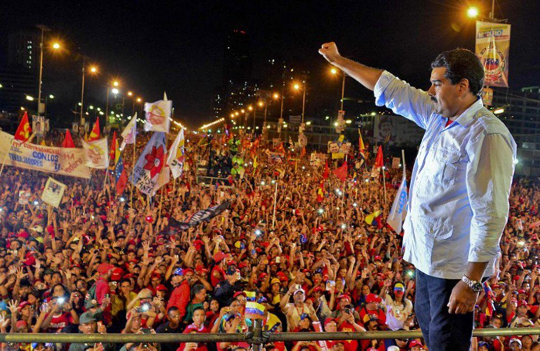 Venezuela Nicholas Maduro re-elected as President