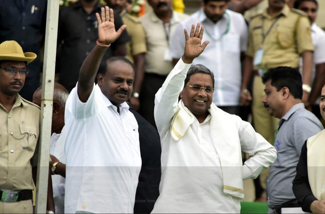 HD Kumaraswamy-led JD(S)-Congress coalition wins floor test, BJP walks out