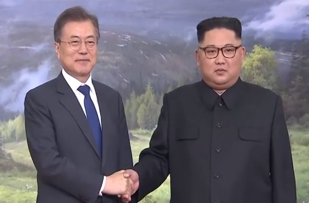 "Surprise: North-South Korean leaders held ""sudden meeting"""