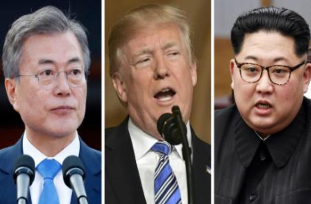 Singapore may host Trump-Kim-Moon tripartite Summit?