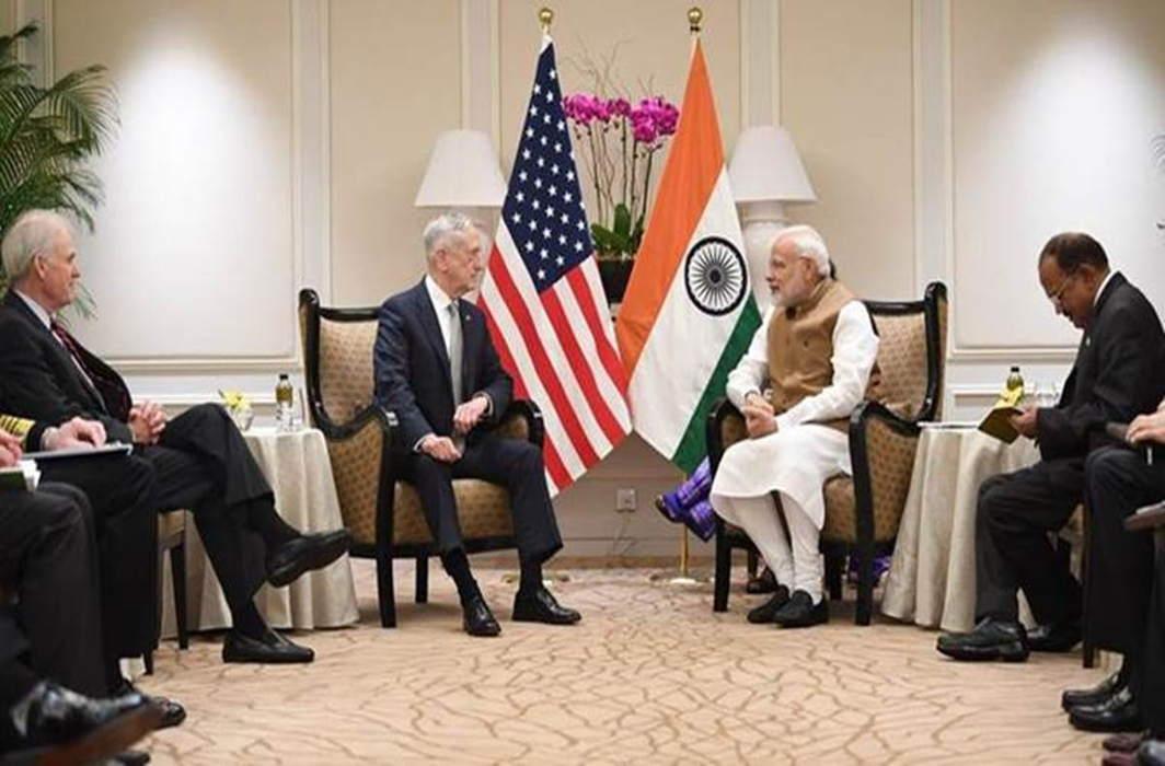 PM Modi meets US Defence Secretary Jim Mattis in Singapore