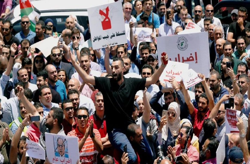 Jordan: Protests my force King Abdullah to change government