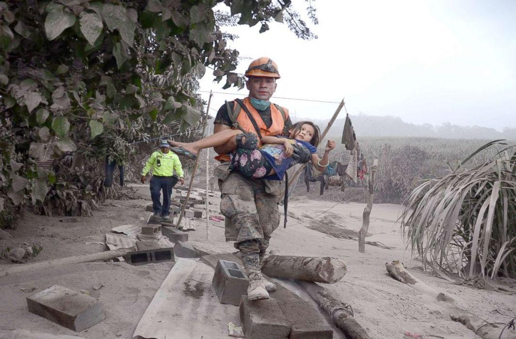 Guatemala Volcano explosion kills 75, leaves 192 missing