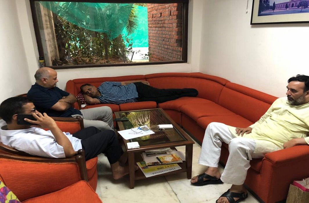 AAP Govt sit-in at LG House continues with minister Satyendra Jain on hunger strike