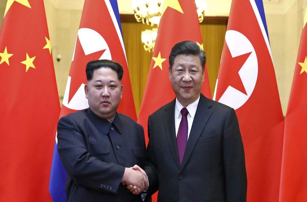 Kim arrives in Beijing to brief Xi Jinping on Trump summit