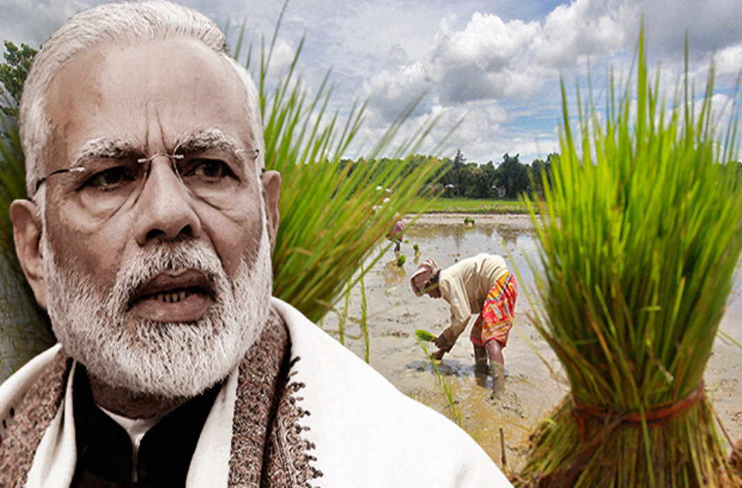 PM reaches out to farmers across India, aims to double farmers' income by 2022
