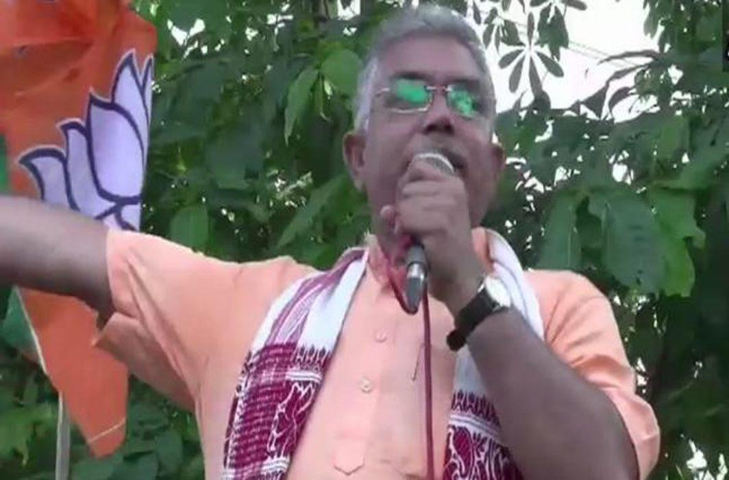 BJP president Dilip Ghosh