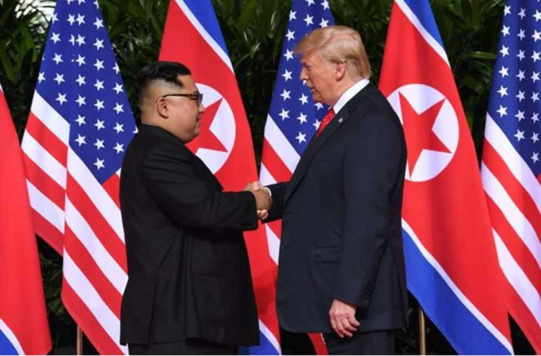 Trump change stance: say North Korea a threat to US security