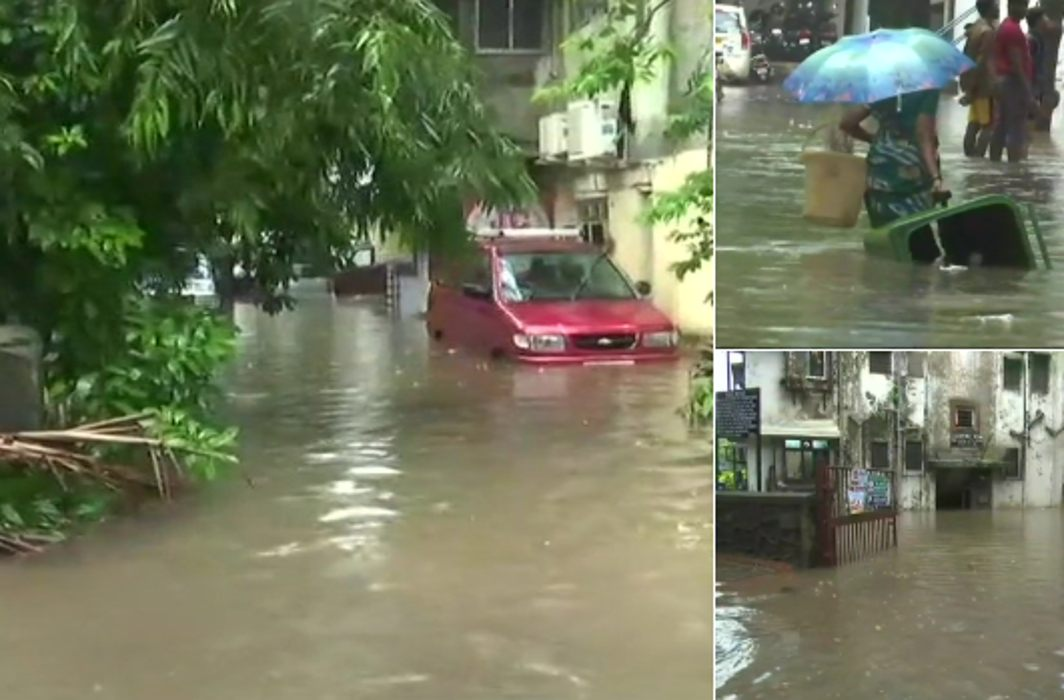3 killed, city submerged, flights, rail services hit: Mumbai rain