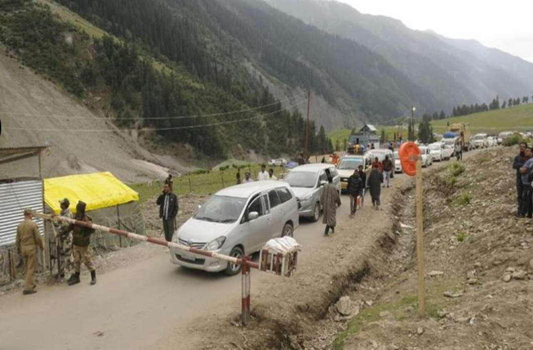 Amarnath Yatra on hold due to heavy rainfall