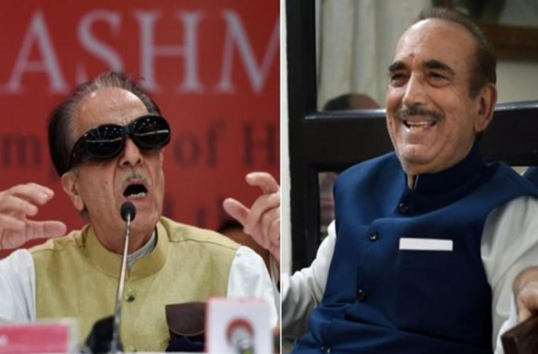 Ghulam Nabi Azad, Saifuddin Soz booked for making 'seditious' remarks against Army - APN Live