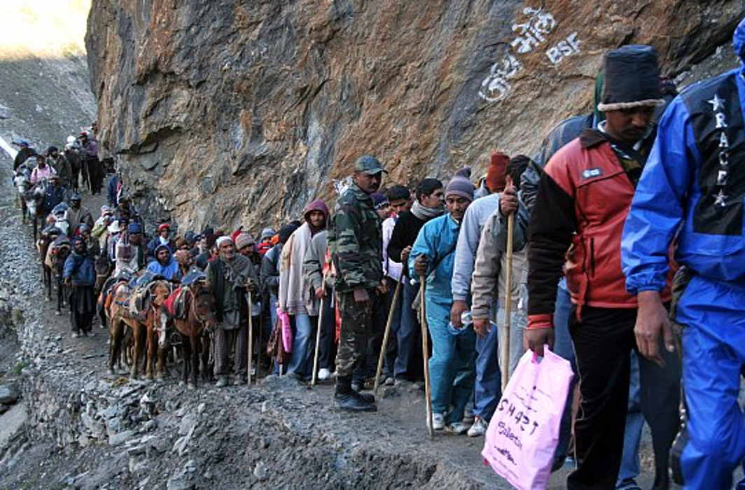 5 pilgrims killed, 3 injured in landslide on Amarnath Yatra route