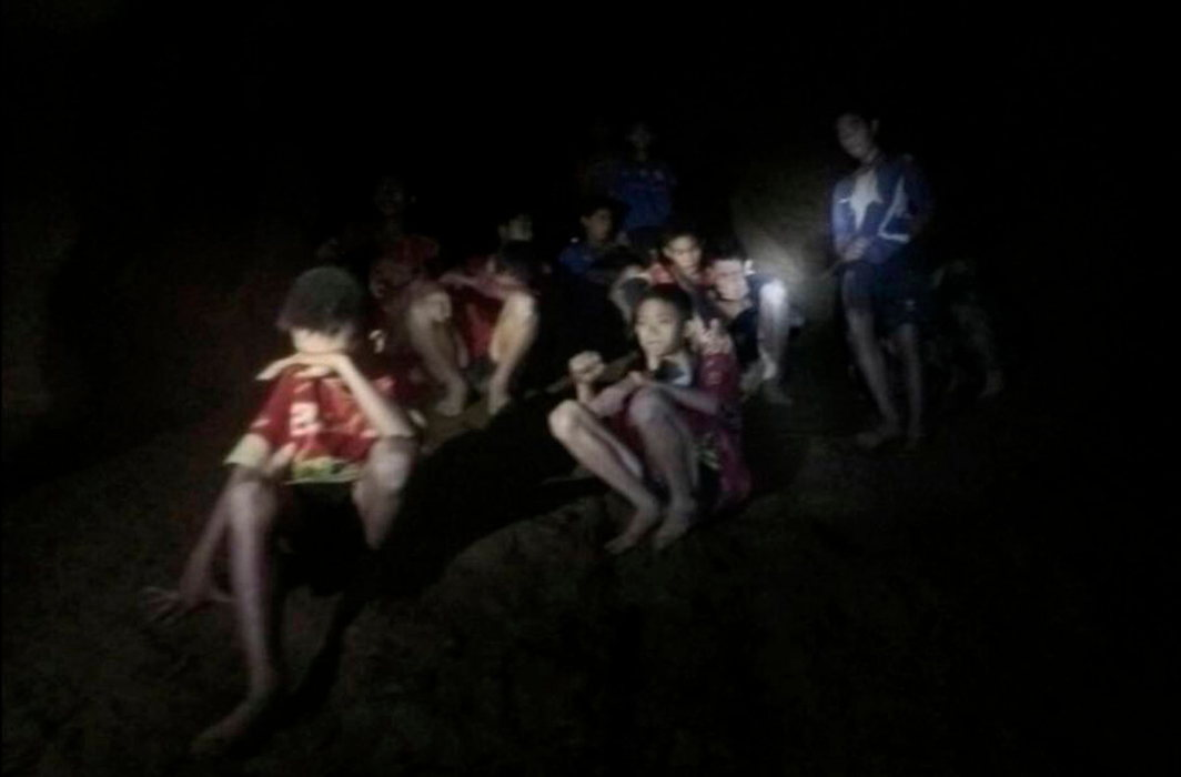 All 12 boys of Wild Boars soccer team rescued from the flooded Thai cave