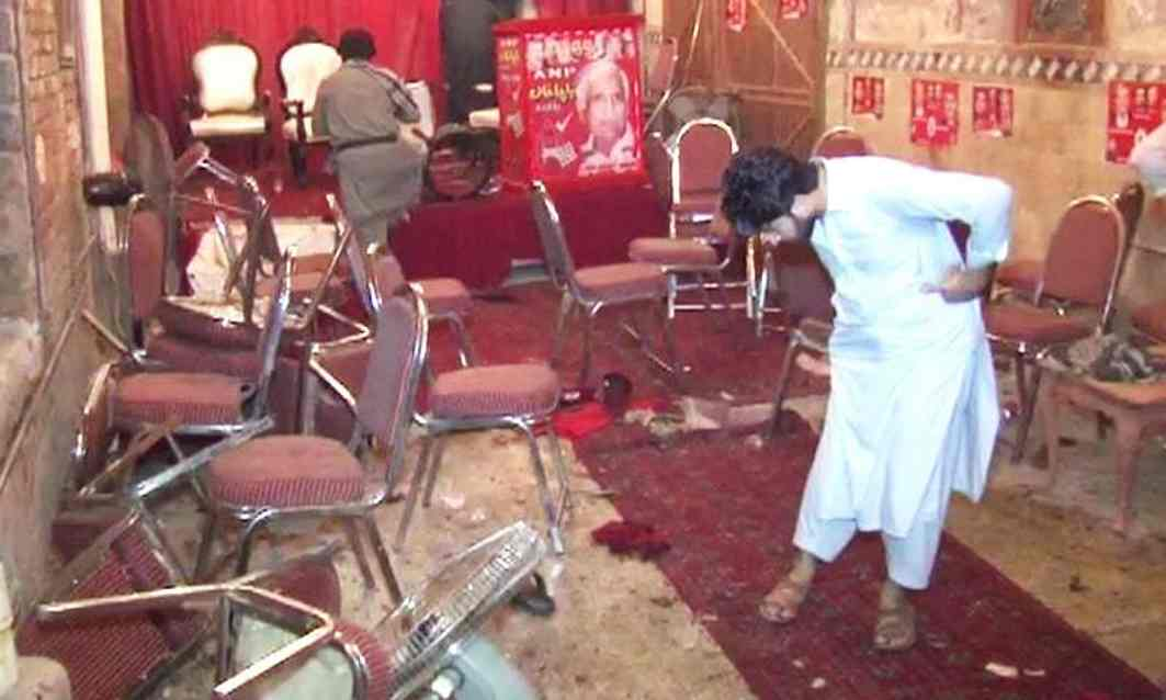 Taliban kill 20 people in suicide attack in Peshawar