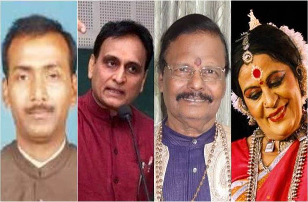 Four new members nominated to Rajya Sabha, an ex-BJP MP and a RSS ideologue among them
