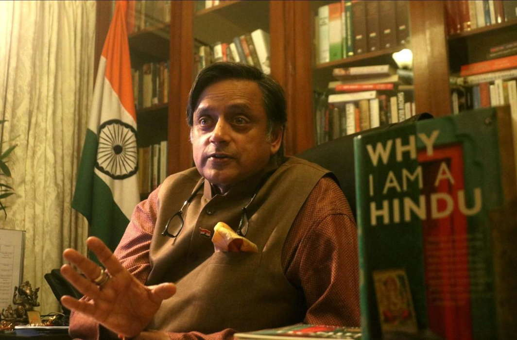 BJYM vandalises Tharoor's office for saying BJP will turn India into a Hindu Pakistan if it returns to power