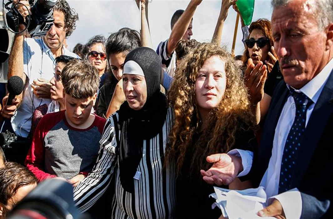 Israel release Palestinian Protest icon girl
