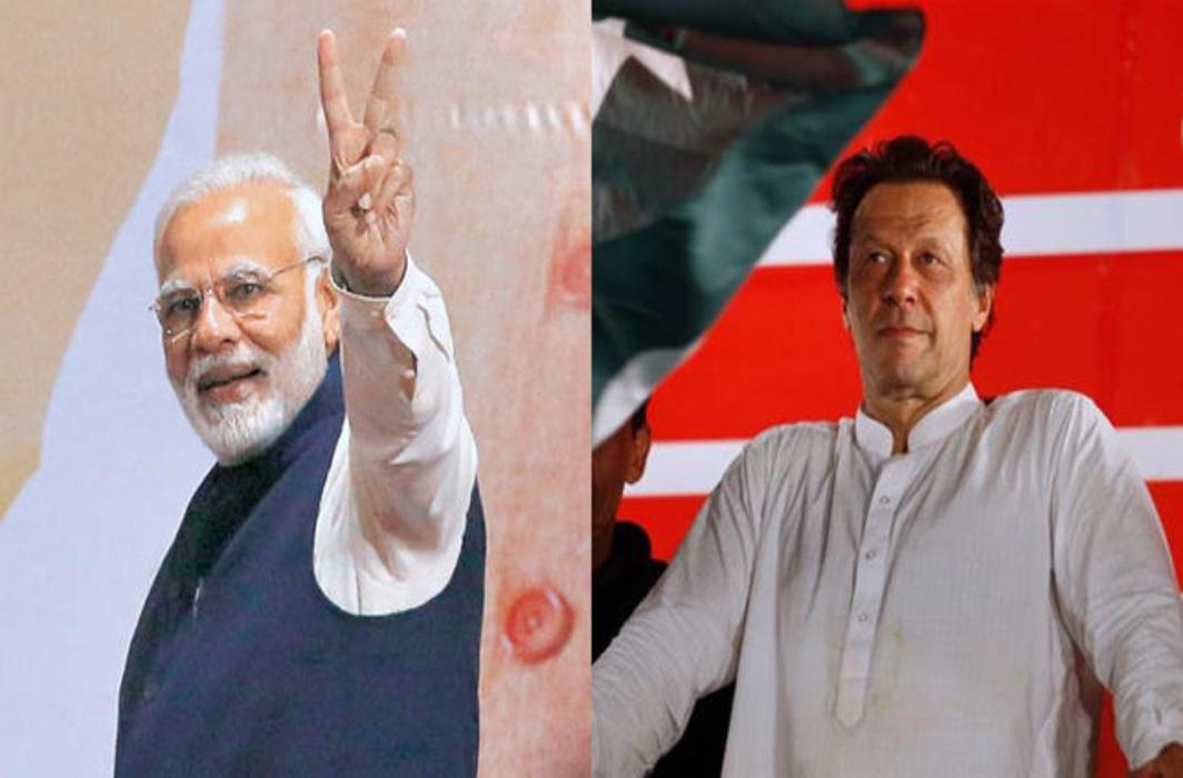 PM Modi Congratulates Pak PM-elect Imran Khan