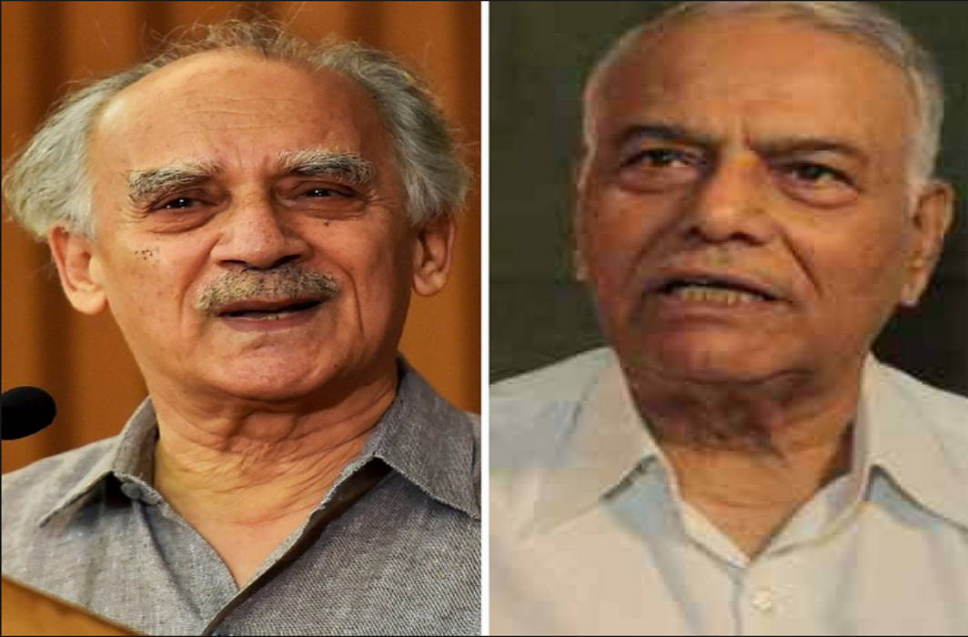 PMO running all ministries, ministers have no work: Yashwant Sinha and Arun Shourie