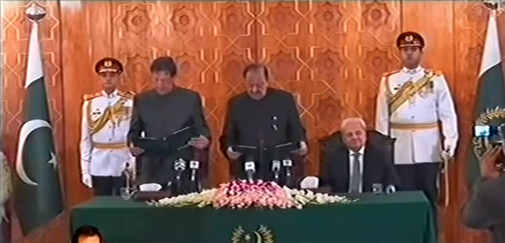 Imran Khan sworn in as 22nd Prime Minister of Pakistan