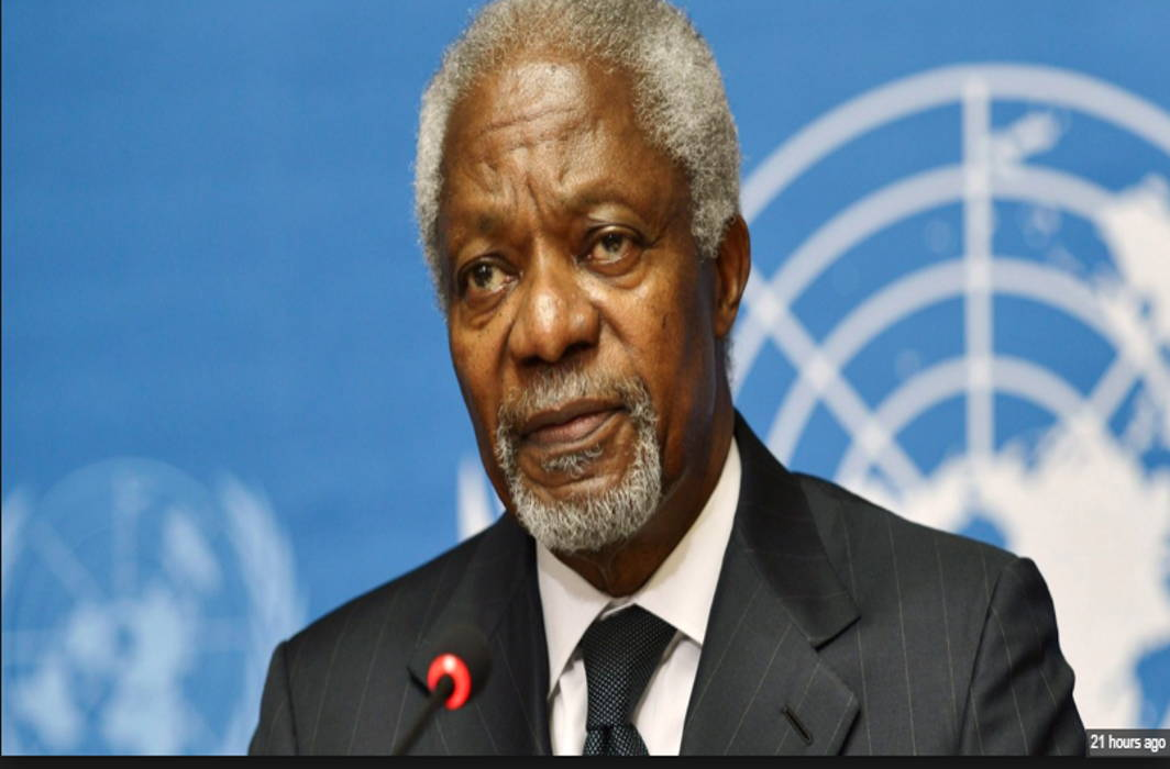 Kofi Annan, For UN Chief Dies, World Mourns