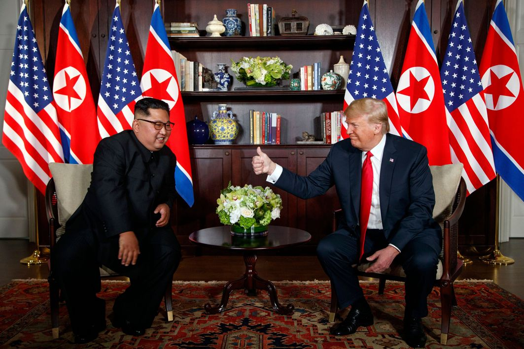 North Korea's Kim Asks Trump for another Summit
