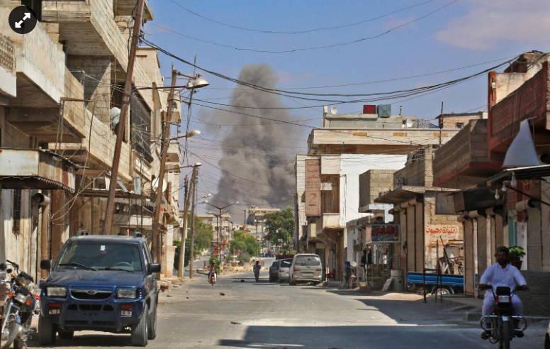 """Air Bombardment or """"Chemical Attack"""" Suspense Surround Idlib Endgame"""
