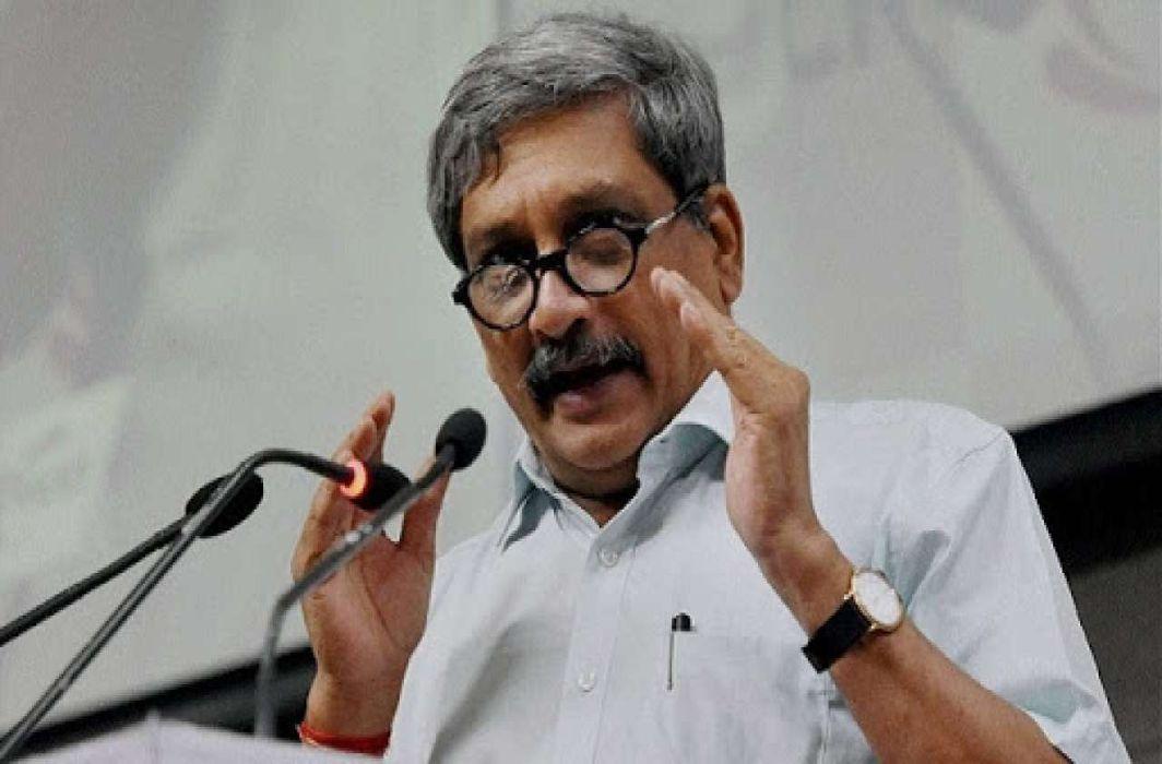 Goa CM Manohar Parrikar
