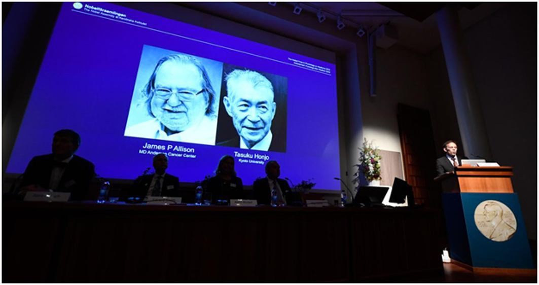 Nobel for medicine to researchers for cancer treatment breakthrough