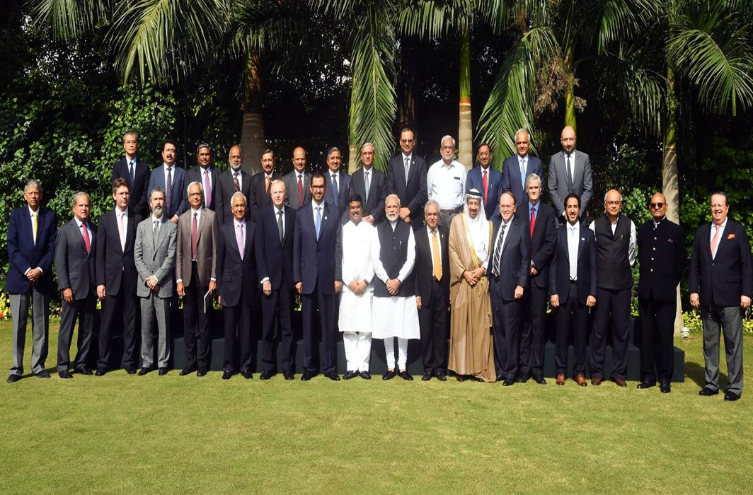 PM Modi meets Oil Cos CEOs, urges cost reduction, payment terms review for relief to rupee