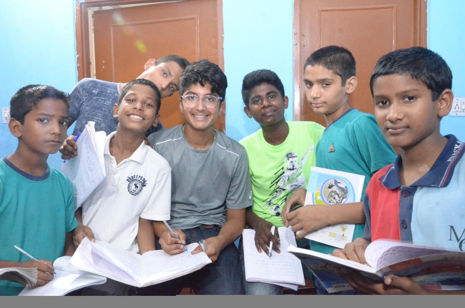 US born Indian origin 15-year child Aron's services appreciated