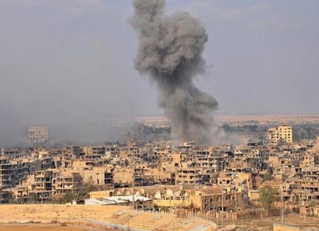 Syria alleges US-led coalition attack on civilians in Deir Ezzor