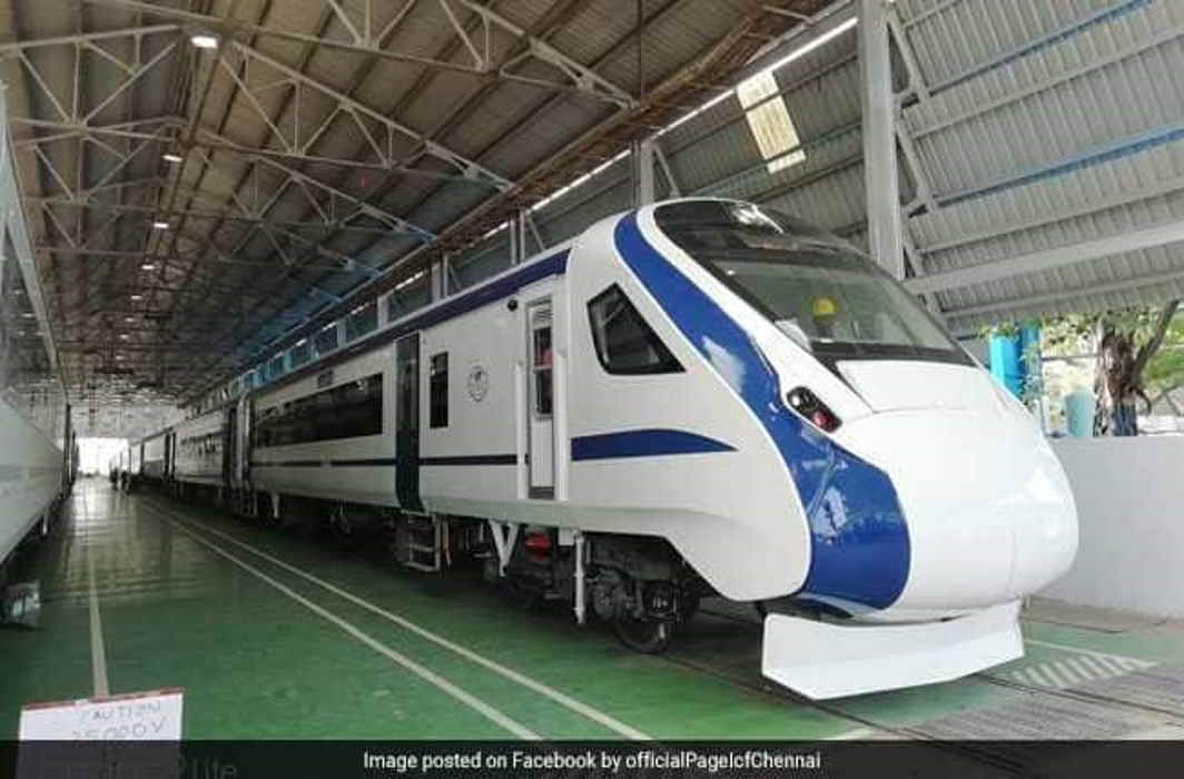Train 18 – India's semi-high speed engineless train set for roll out, trials begin