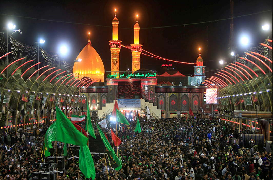 Over 20 million gather for Chehlum Imam Hussein in Karbala, iraq