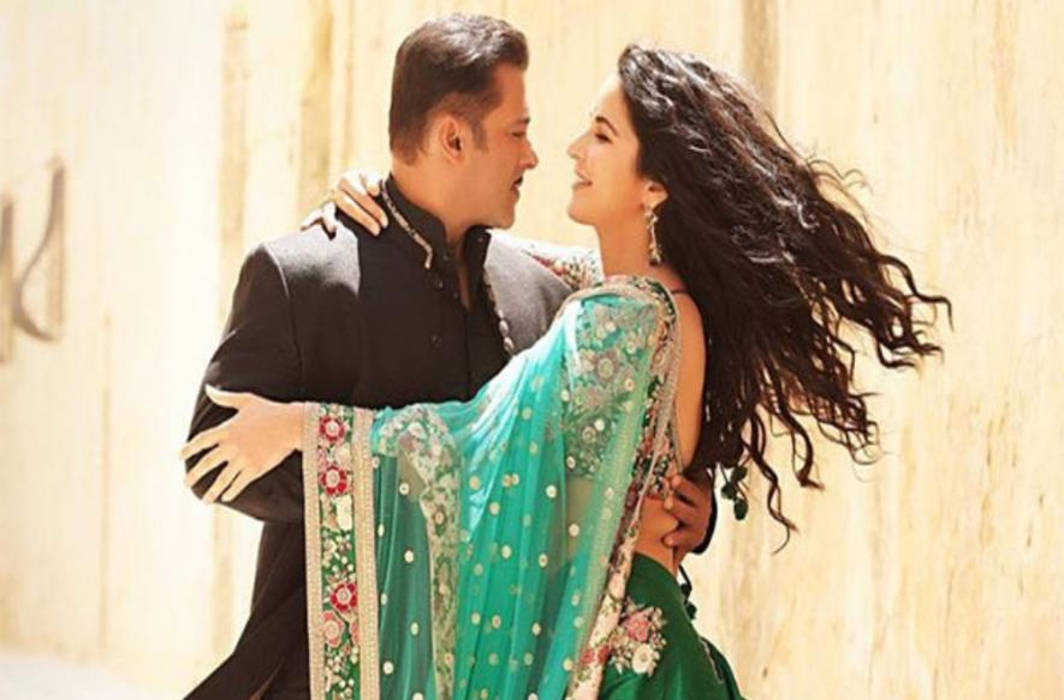 Salman Khan posts a still from Bharat with Katrina Kaif at Wagah Border
