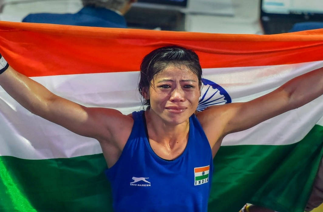 LATEST SPORTS NEWS      Mary Kom bags sixth Gold at World Boxing Championship