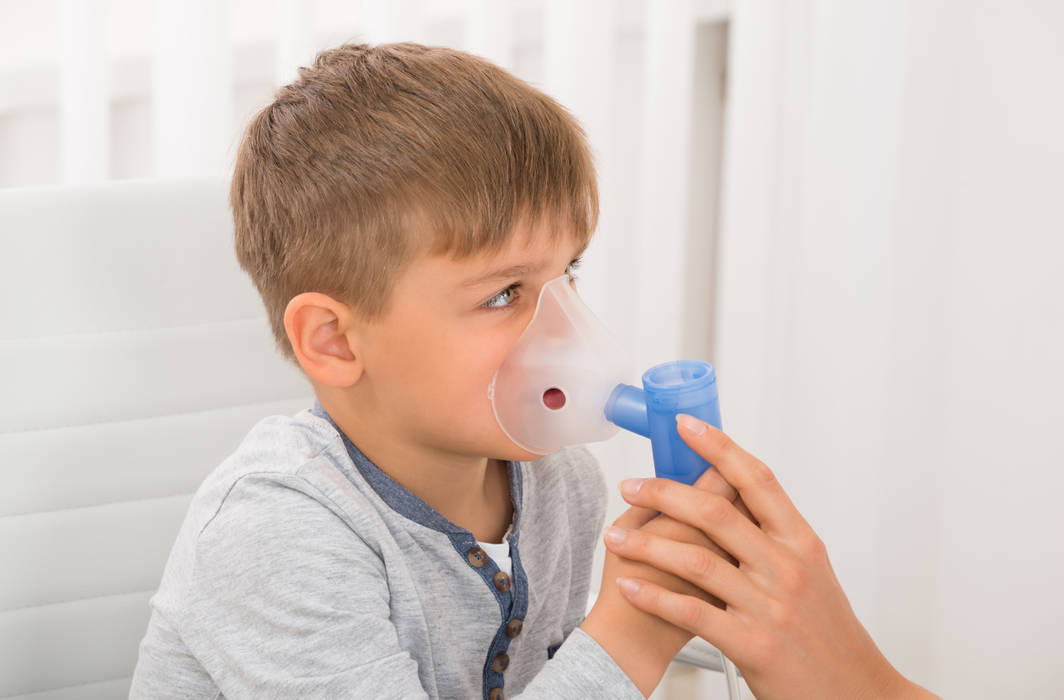 Risk of Asthma is high in overweight children