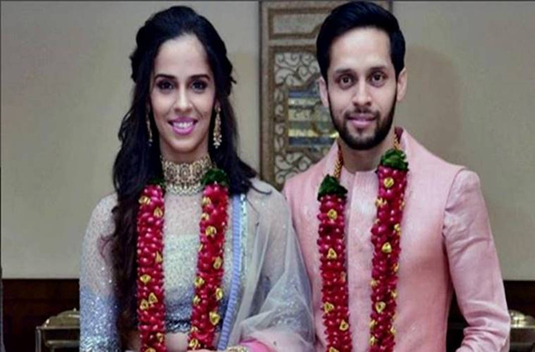 Saina Nehwal & Parupalli Kashyap