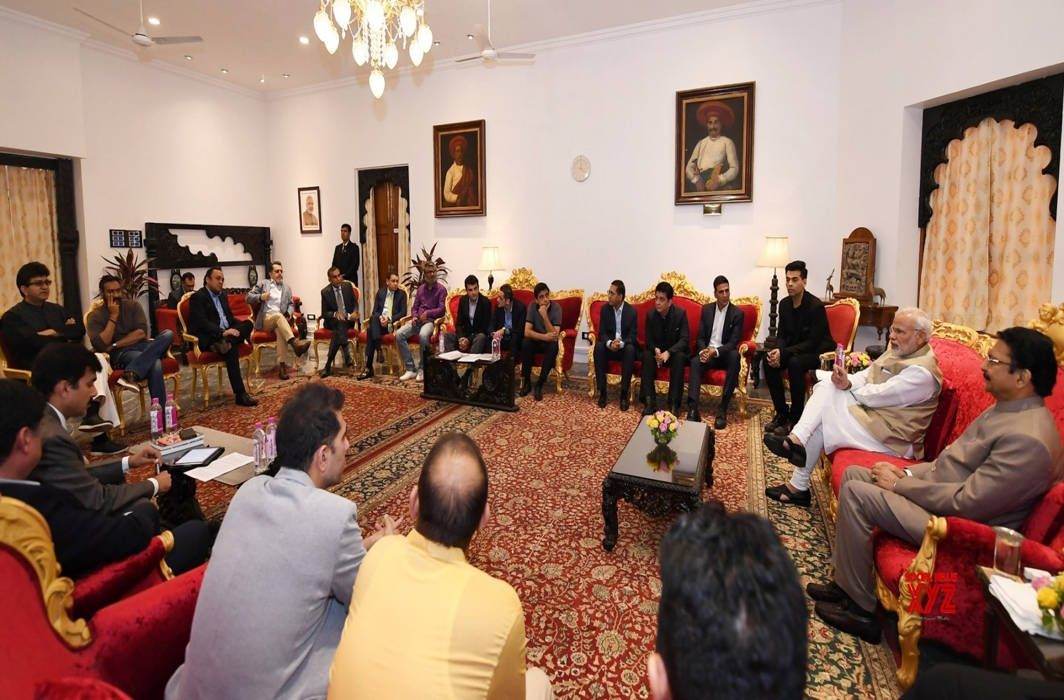 Film fraternity delegates meet PM Modi