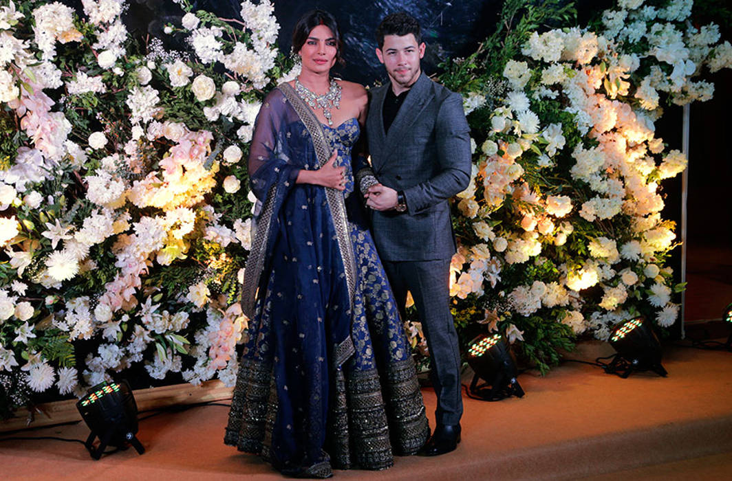 Have a glance at Priyanka-Nick star studded wedding reception