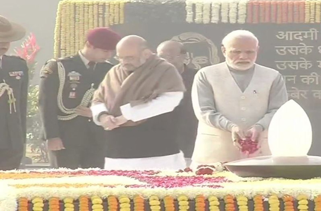 Atal Bihari Vajpayee's Memorial Inaugurated; President Kovind, and PM Modi Offer Tributes