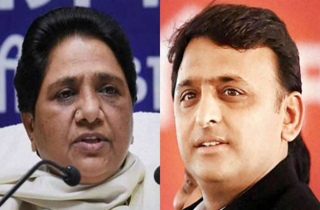 Akhilesh Yadav reacts on Mayawati statue row