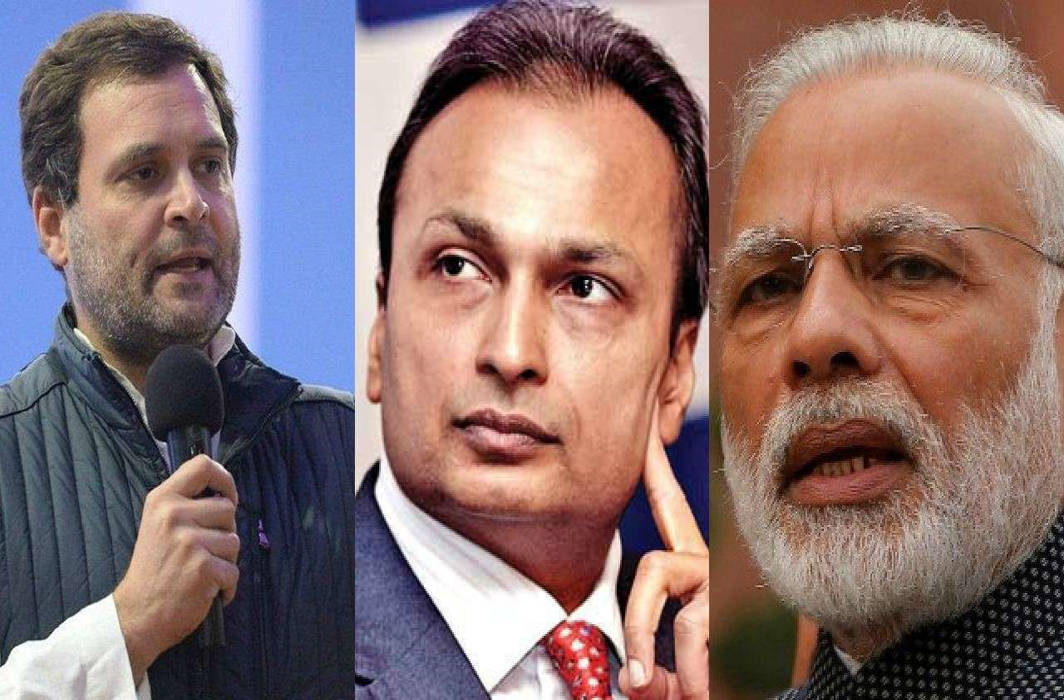 Rahul Gandhi accuses PM Modi of acting like Anil Ambani's middleman, levels treason charge