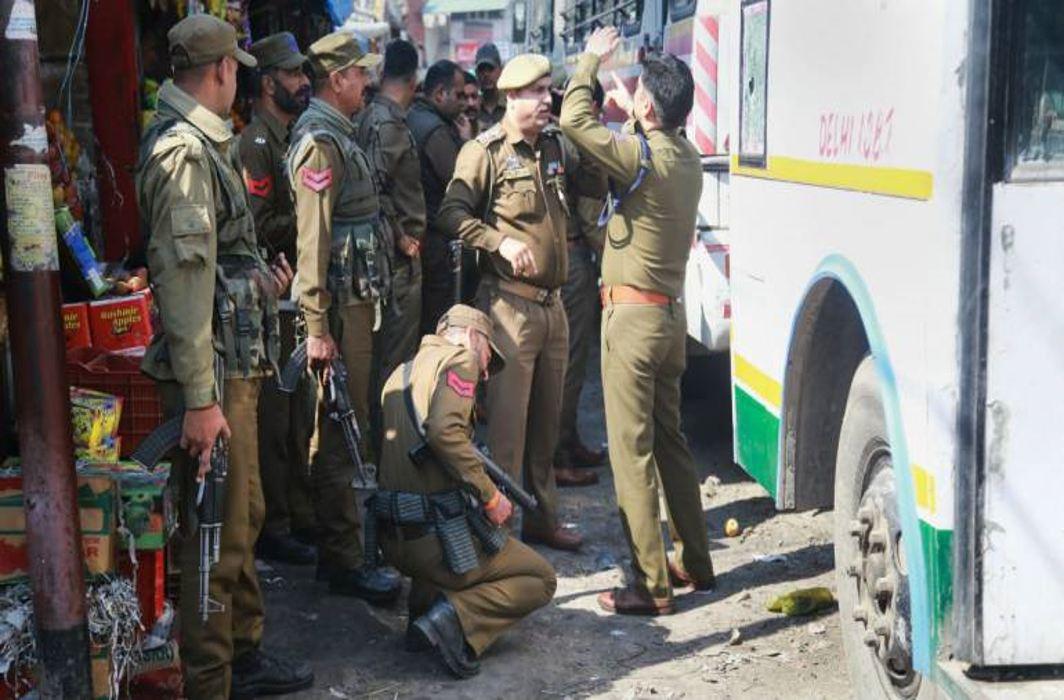Grenade blast at Jammu bus stand