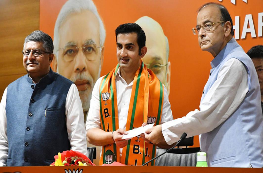 Gautam Gambhir joins BJP