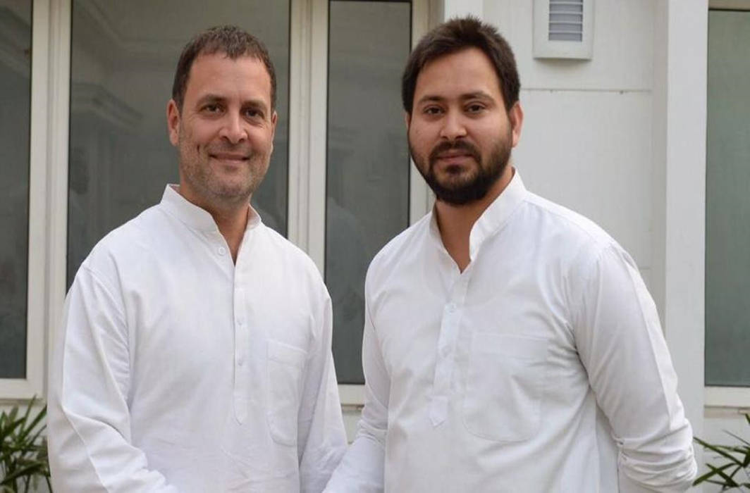 Congress-RJD announce seat sharing deal for Bihar, 'mahagathbandhan' in place