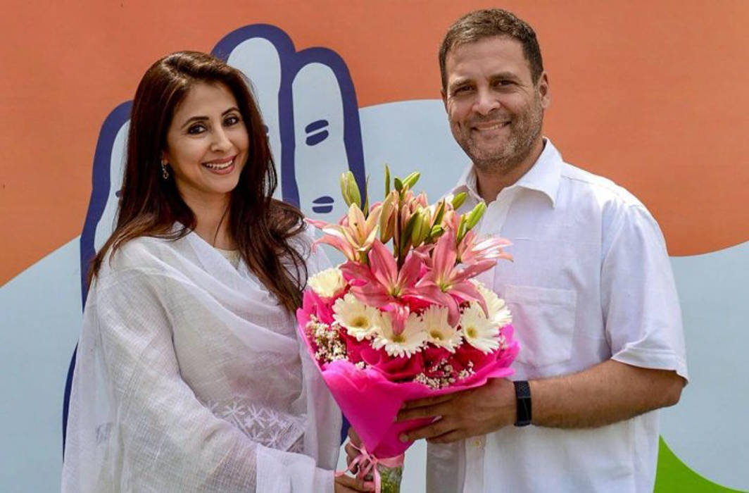 Urmila Matodkar joins Congress