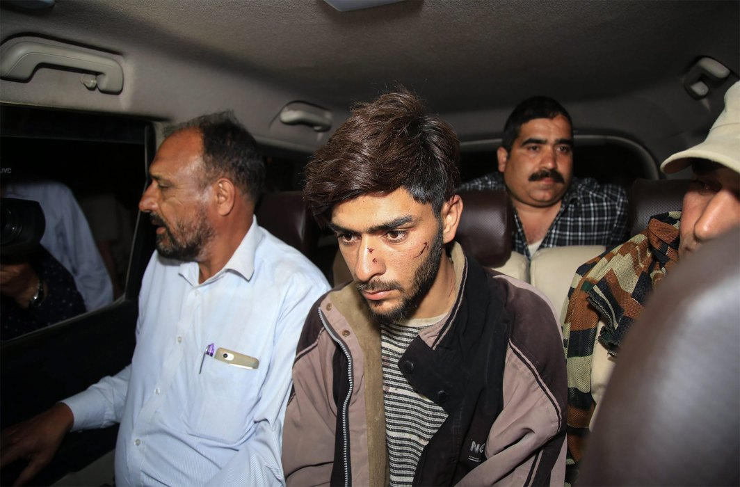Jammu and Kashmir police arrested suspected Banihal car bomber