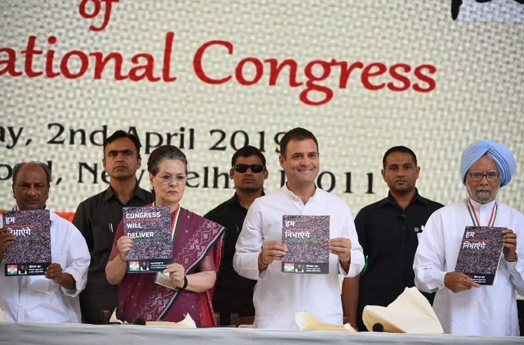 Lok Sabha 2019 Congress manifesto
