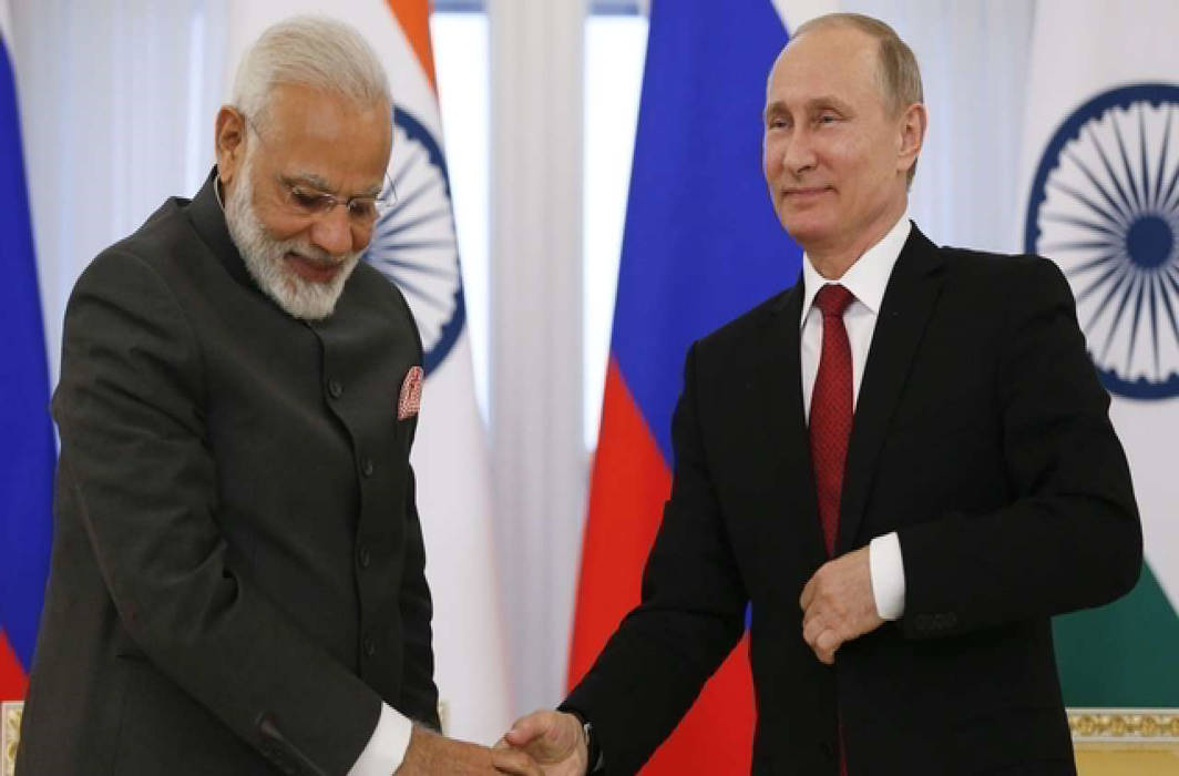 PM Narendra Modi honoured with Russia's 'Order of Saint Andrew the Apostle', its highest civilian award
